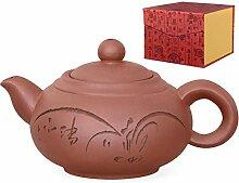 Aricola Yixing Ton Teekanne Shanghai Handgefertigt