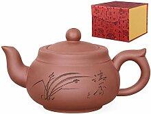 Aricola Yixing Ton Teekanne Wuhan Handgefertigt