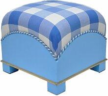 Arketi-com Sitzwürfel Mon Amour Bill Polyester und Polyurethan expandiert, Stoffdruck , 45x45 cm. Hand Made in Italy
