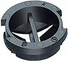 Arlington Industries nm942–25Snap schwarz Button Kabel Anschlüsse für bis zu 1/2Kabel separat mit 1/5,1cm Knockout (25Stück), schwarz