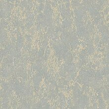 Arlo Textur Metallic Wallpaper Grau/Gold Muriva