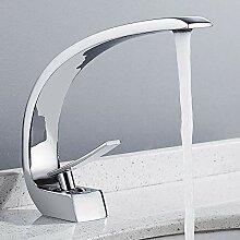 Armatur Waschbecken Badarmatur aus verchromtem