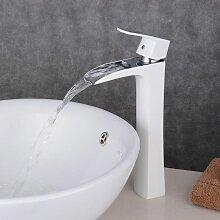 Armatur Wasserfall extrahoch, für Waschbecken,