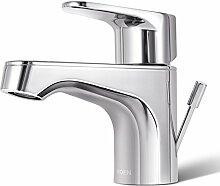 Armaturen Bad Armatur, Badezimmer, Waschbecken, Waschbecken, Waschbecken, Wasserhahn, heiße und kalte Kupfer