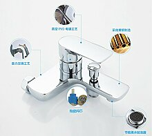 Armaturen Badewanne Armatur Kupfer kalte Dusche Wasserhahn Bad Dusche Dusche Mischventil