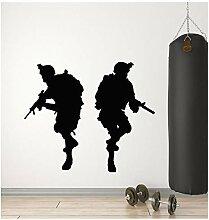 Army Warrior Aufkleber Für Jungen Vinyl