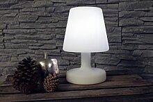 Arnusa Oasis Lights Tischlampe Pl112 LED Zimmerlampe Dekoleuchte Stimmungslampe mit Fernbedienung und Akku
