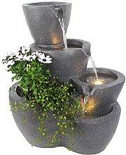 Arnusa Springbrunnen Botana Anthrazit mit