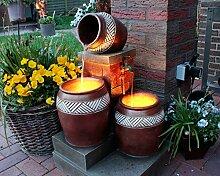 LED Niagara Ersatz Beleuchtung Springbrunnen Arnusa
