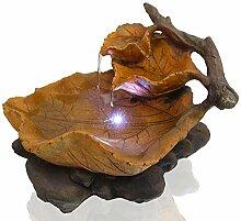 Arnusa Zimmerbrunnen Herbstlaub mit LED