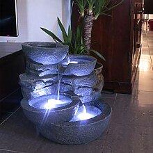 Arnusa Oasis Lights LED Beistelltisch PL126 Couchtisch beleuchtet Fernbedienung