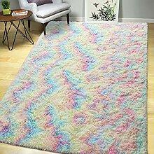 AROGAN Luxuriöser flauschiger Mädchen-Teppich
