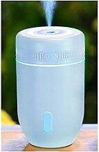 Aroma Diffusor Luftbefeuchter Ultraschall LED Farbwechsler Purifier,220ML ,blue