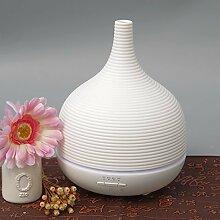 Aroma Öl Diffuser Aiho 500ml Utraschall Luftbefeuchter mit 7 Farben LED Vernebler Duftlampe  für Wohnzimmer, Schlafzimmer, Büro, Yoga, Spa