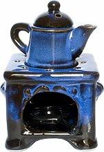 Aromalampe Herd Kochherd Duftlampe mit Kanne aus