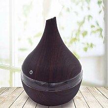 Aromatherapie Luftbefeuchter, Holzmaserung,