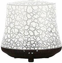 Aromatherapie Luftbefeuchter Kreativ Umweltschutz Bunt Licht Aromalampe Ultraschall Stummschalten Aromatherapie-Maschine, Yoga, Schlafzimmer, Büro, SPA , Deep wood grain