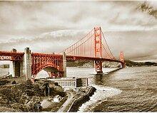 Around The World San Francisco Bridge Fotodruck in