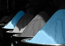Around the World Spices Fotodruck in Baby Blau