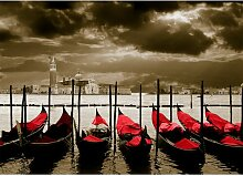 Around the World Venice Fotodruck in Rot East