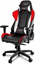 Arozzi Gaming Stuhl Verona Pro V2 Schwarz/Rot/Weiß