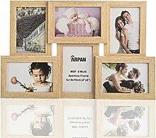 ARPAN Collage mehrere Bilderrahmen für 6 Fotos in