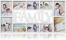 ARPAN Family Bilderrahmen für 10 Fotos à 15 x 15