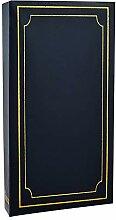 ARPAN Fotoalbum mit 300 Hüllen, 15 x 10 cm, Blau,