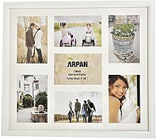 Arpan Mehrfach-Bilderrahmen für 7 Fotos, 3 x 15