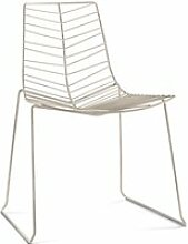 Arper - Leaf Stuhl (stapelbar), weiß