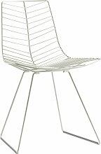 Arper - Leaf Stuhl, weiß