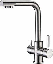 Arputhy 3 Wege Wasserhahn Küchenarmatur