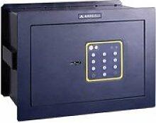 Arregui 15000wb-s2Unterputz Elektronik-Safe mit Schlüssel (340x 245x 200–300mm) blau