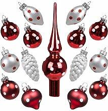 Art Beauty Weihnachtskugeln Mini Christbaumschmuck