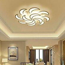 Art Blütenblatt LED-Deckenleuchte Acryl Einfach