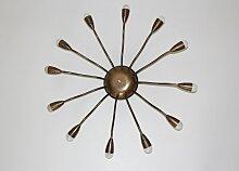 Art Deco Einbau- Deckenleuchte von J. T. Kalmar,