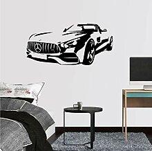 Art Decor AMG GT Roadster Zitat Wandaufkleber