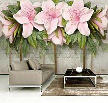 Art Fototapete Blumen Leinwand Wandbild Kunstdruck