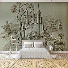 Art Fototapete Schlossgebäude 3D Wandbilder Vlies