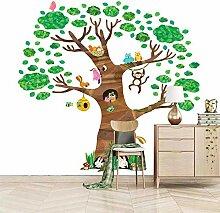 Art Fototapete Tiere & Baum 3D Wandbilder Vlies