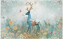 Art Fototapete Vlies Tapete Wohnzimmer 450X300