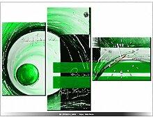 art-gallery XXL–100x 70cm–Die Abstrakt–Wanduhr Tabelle–Deco Moderne–New Design