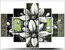 art-gallery XXL–150x 105cm–Beau Duo N ° 4–Wanduhr Tabelle–Deco Moderne–New Design