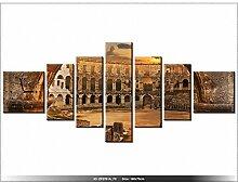 art-gallery XXL–160x 70cm–Landschaft–von Pula, in Kroatien–Wanduhr Tabelle–Deco Moderne–New Design
