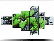art-gallery XXL–180x 100cm–Blumen–Mohnblumen–Wanduhr Tabelle–Deco Moderne–New Design