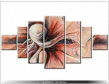 art-gallery XXL–200x 100cm–Abstrakt–Die Unbekannte–Wanduhr Tabelle–Deco Moderne–New Design