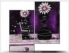 art-gallery XXL–60x 60cm–nicht-Namen–Wanduhr Tabelle–Deco Moderne–New Design
