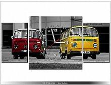 art-gallery XXL–80x 40cm–Die Gurken–Wanduhr Tabelle–Deco Moderne–New Design