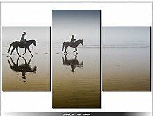 Art Gallery XXL, 60 x 90 cm, CHEVAL- Tabelle MULTI-Panel-modern-DECO NEW DESIGN, HORSE
