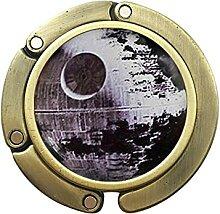 Art Glas-Karabinerverschluss, Stern inspiriert,